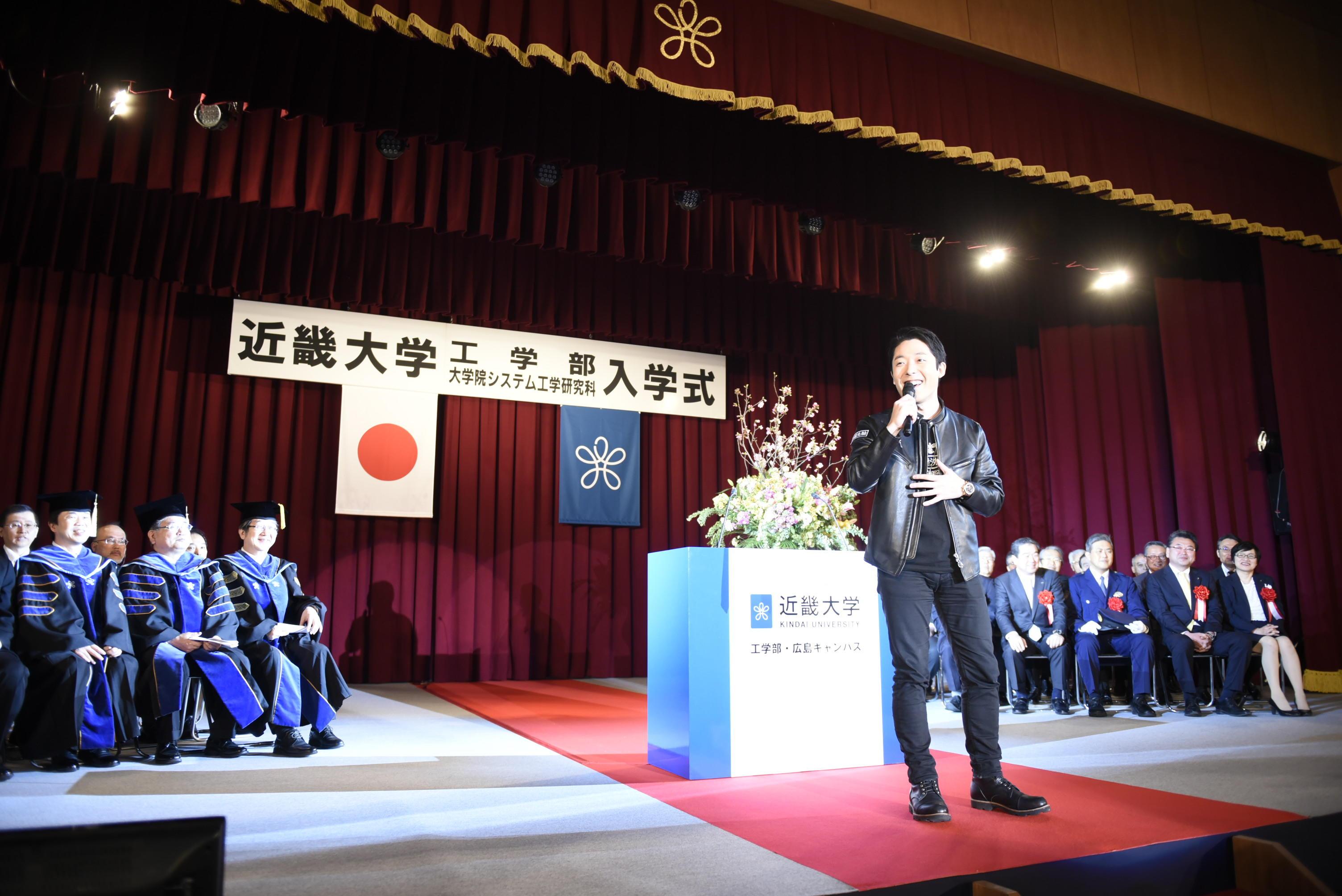 令和元年度入学生入学式中田敦彦氏ゲストスピーチもこちらから