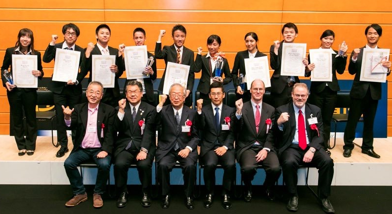 Won the Best Group Award in English Presentation Contest(Source:The Japan News)