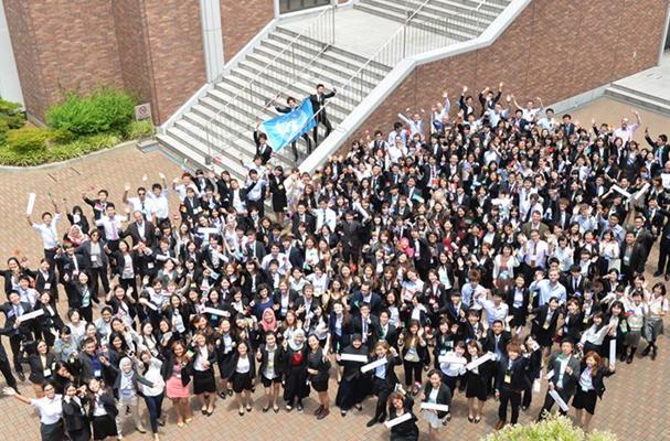 Japan University English Model United Nations Held at Kinki University