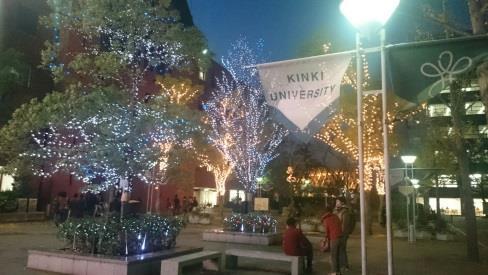 「イルミネーション点灯式」開催 冬の風物詩 イルミネーションでキャンパスがクリスマスムードに!