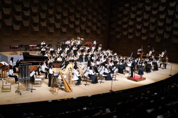 吹奏楽部が韓国国際吹奏楽祭に出演 日本の大学として初! 平成28年(2016年)9月6日~10日 韓国ソウル市にて