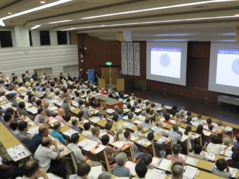 第30回近畿大学医学部市民公開講座 「この予兆に要注意!脳卒中と心筋梗塞-備え方と付き合い方-」
