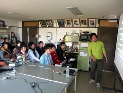 近畿大学ゼミ生が幸島・都井岬でフィールドワーク