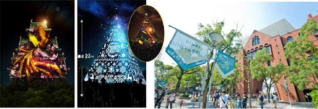 「大阪城3Dマッピング」 近畿大学学生による来場者調査隊を結成<br /> 12/12(金)澤田秀雄氏による熱血マーケティングセミナーと出陣式を開催!