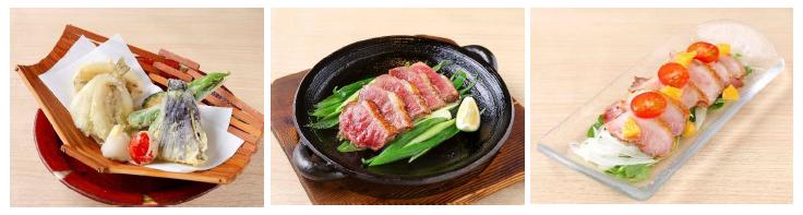 近畿大学ブランド食材の新メニュー3種を発売 「近大産シロギス」や「近大おいし鴨」を使用!