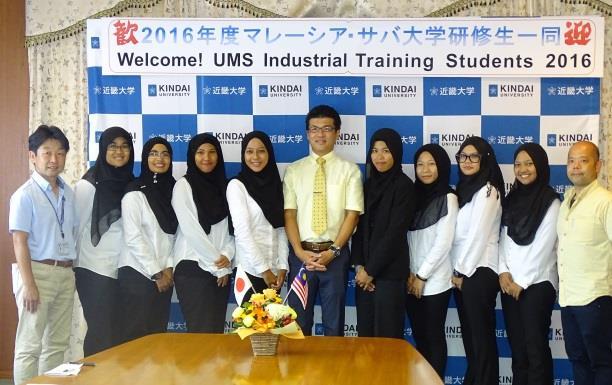 留学生受入れに対し、マレーシア・サバ大学から感謝状 近畿大学水産研究所で14年間に92人の留学生を受入れ