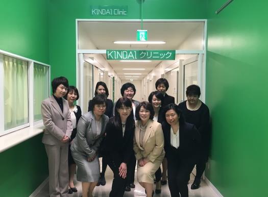 メディカルサポートセンター(KINDAIクリニック)開設 キャンパス内に医師が常駐、女性にやさしいクリニックを