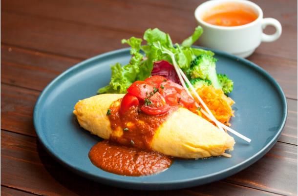 全国農業コンクール全国大会記念オムライスを販売 近大が開発した「近の鶏卵」・「金賞健康米」を使用!