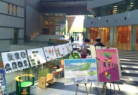 産業理工学部建築・デザイン学科の学生の作品を展示 「KenDe Works 2016 夏展、」開催 8/2(火)~4(木) アクロス福岡にて(入場無料)
