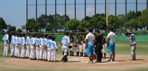 少年野球大会「第11回嘉麻の里杯」に参加 硬式野球部員50人がボランティア協力します 産業理工学部