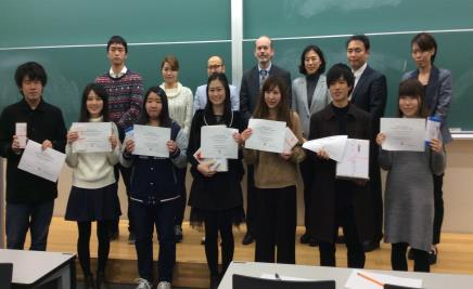 英語プレゼンテーションコンテスト開催 予選会で選抜された学生8人による発表