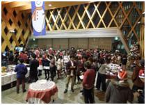 12/16(火)近畿大学英語村E3[e-cube] Christmas Charity Dinner開催!