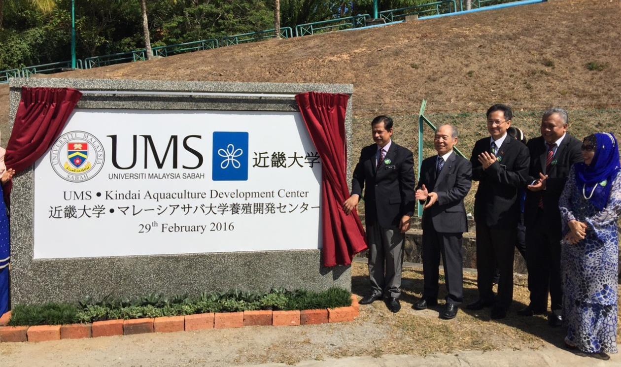 「近畿大学 マレーシア・サバ大学養殖開発センター」設立 近畿大学水産研究所、初の海外進出!