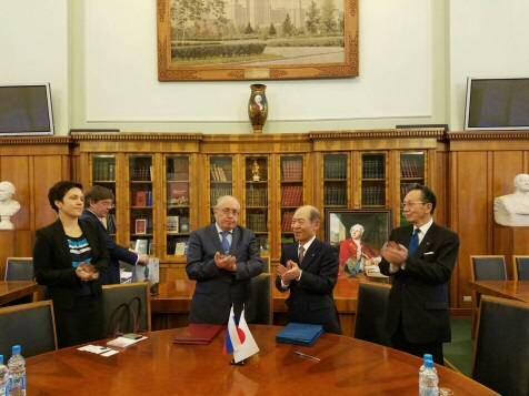 モスクワ大学の学生が来学し、学術交流や日本文化を体験 国境を越えた学生交流がスタート