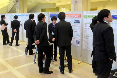 総勢173人の近大理工系大学院生が集結するイベント 「総合理工マスターズ2017」開催