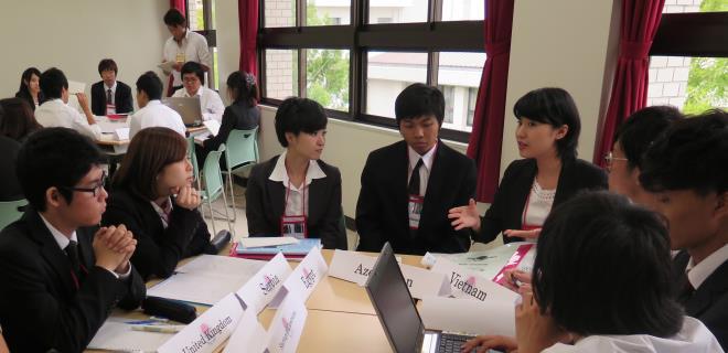 6/26(金)~28(日)日本大学英語模擬国連(JUEMUN)2015を開催 近畿大学文芸学部英語コミュニケーション学科