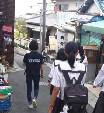 学生が東大阪の町工場と石切参道商店街をご案内 修学旅行の中学生に東大阪の魅力を伝える「学生ガイド」