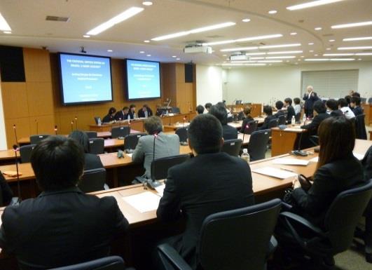 「外国人法曹との研修会」開催 香港、フィージー、ナミビアから講師を招いて 法科大学院キャリア支援委員会
