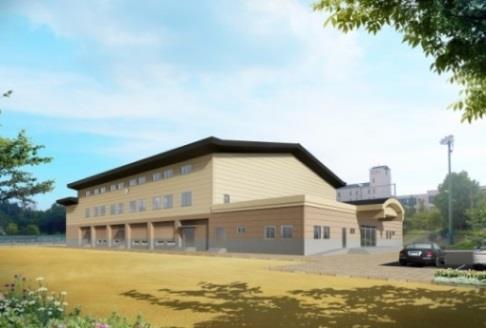 広島キャンパスに体育館を新設 2,000人収容可能なスポーツ・文化施設で教育内容を充実