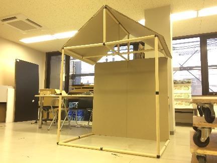 インターンシップ企画商品を博物館で展示 関西文化の日のワークショップにて「弥生ハウス」を学生が出品