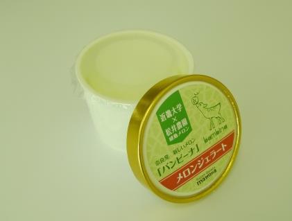 メロンジェラートを奈良病院で提供 新品種メロン「バンビーナ」を使用し、病院食の質向上を目指す