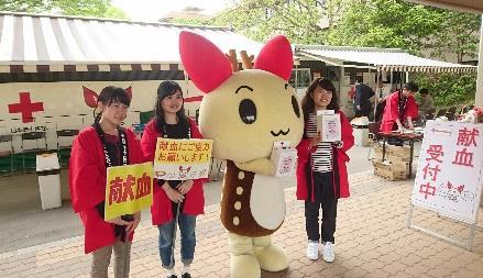 奈良キャンパスで献血イベントを実施 生駒ライオンズクラブ・近畿大学附属農場とのコラボ企画