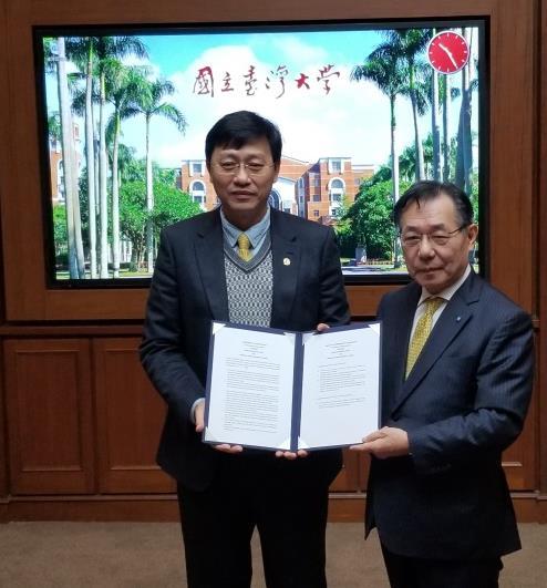 協定校 国立台湾大学への表敬訪問を実施 台湾の最高学府と連携、学術・学生交流を推進