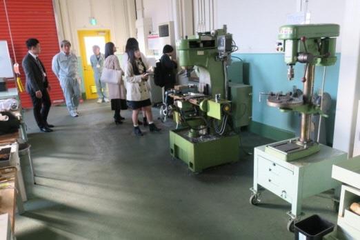 学生が「モノづくり試作工房」リニューアル提案 「東大阪市都市ブランド形成事業」の一環