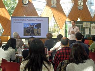 英語村で「春の一般公開」を開催 ~アクティビティを楽しみながら英語を学ぶ~