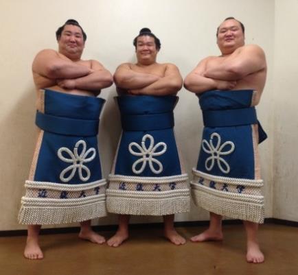 宝富士らOB大相撲力士8人母校で後輩に稽古 2月25日(日)東大阪キャンパスにて