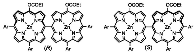 世界初!クロロフィルの誘導体が二つ集まり、円偏光発光(CPL)が発現