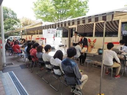 奈良キャンパスで献血イベントを実施 学生ボランティア団体による地域連携型企画