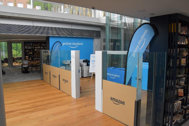 Amazon、日本初の「Prime Student Room」を近畿大学に開設 -Brand AmbassadorがPrime StudentやAmazonの活用方法を発信-
