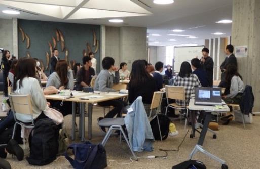 英語村E3[e-cube]で「総領事カフェ」を開催! 米国外交官と大学生のディスカッションプログラム
