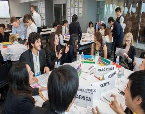 日本英語模擬国連(JEMUN)2018を開催 国内外、342人の学生が国際問題について英語で議論する3日間