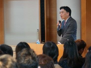 近畿大学附属幼稚園で食育セミナーを開催 「生きる力を育てる食の重要性」を分かりやすく講演
