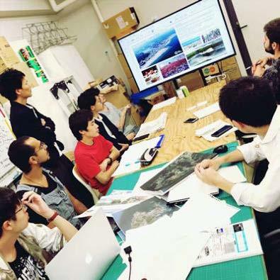 台湾淡江大学と国際建築ワークショップ 国際社会を踏まえた21世紀型リゾートの可能性を探る