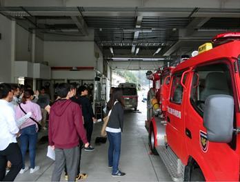 東広島市×近大工学部 長期実践型インターンシップ始動 消防署建設プロジェクト開始式典に学生22人が参加