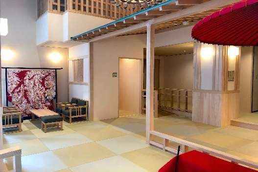 「ゲスト・ハウス」リニューアルオープン! 「和」を基調としたくつろぎスペースが完成