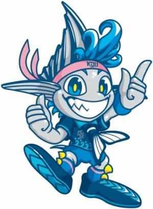 体育会公式マスコット「KINDAI BIG BLUE」誕生 体育会の一体感を図り、大学スポーツを盛り上げる