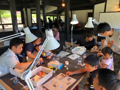 小学生に福富町の魅力やものづくりの楽しさを伝える 自然観察教室&田舎暮らし体験開催