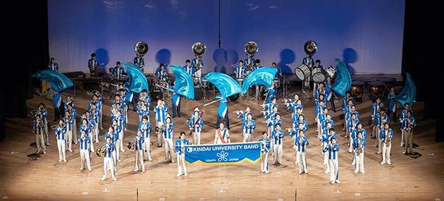 吹奏楽部 第43回ポップスコンサート開催 シンフォニックステージ、POPSステージ、マーチングステージの3部構成