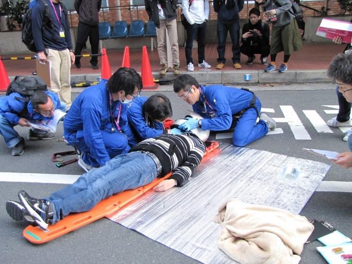 テロや交通事故など多発する人為災害の備え Prehospitalチームの訓練競技!第4回南大阪メディカルラリー開催