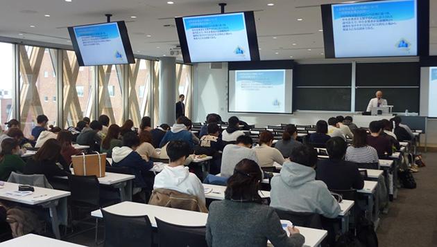 近畿大学×大阪信用保証協会 「未来の社長のための信用保証協会講座」開催