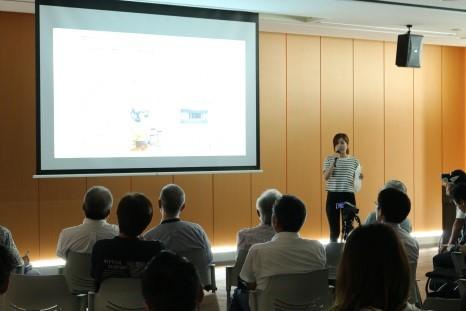 商店街フィールドワーク最終報告会を実施 学生が飯塚商店街活性化対策を発表