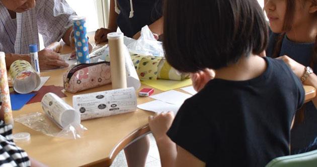 近畿大学病院「HART夏フェス2019」を開催! 文芸学部学生によるワークショップで患者様に笑顔を