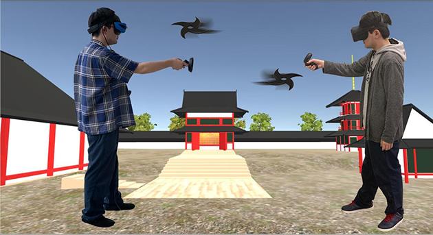 第3回オープンキャンパス開催 ~VR体験イベント「夏見廃寺(なつみはいじ)で忍者手裏剣対戦」を実施~