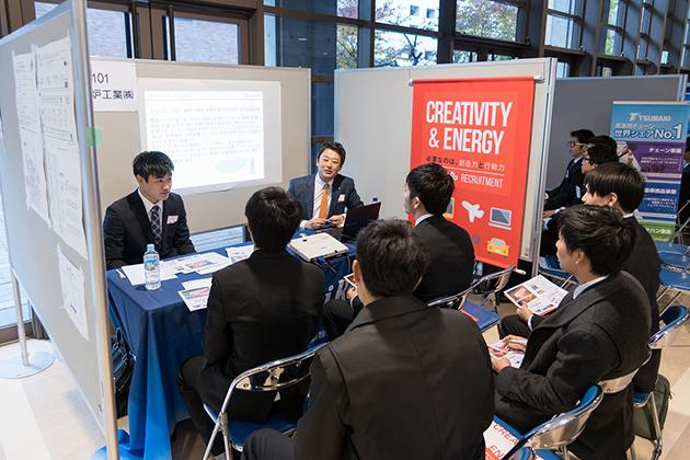 「学生のための企業技術発表会」開催 企業技術者が独自技術等を理系学生にアピール