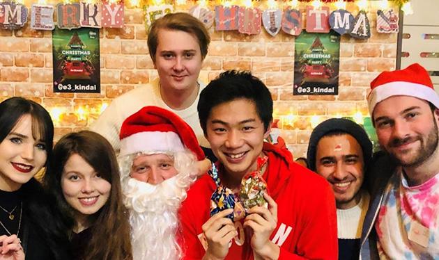 英語村E3[e-cube] Christmas Charity Dinner 欧米の伝統的なクリスマスをチャリティを通して体験