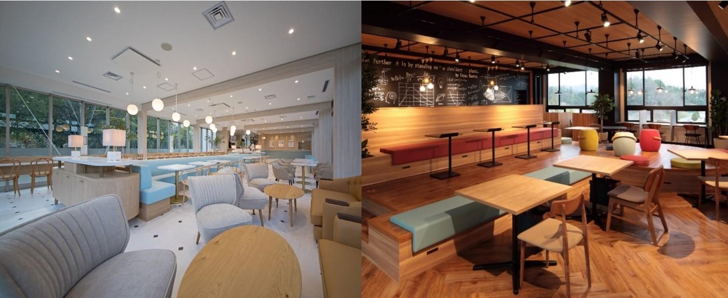 9/14(月)2つの新施設が同時オープン! 地域密着&SDGsの取り組み&キャッシュレス対応「杜cafe+ku(もりかふぇ くー)」 クリエイティブな発想を創出する空間「TERACO LAB(てらこ らぼ).」